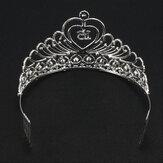 Австрийский хрустальный бриллиант для новобрачных Волосы Расческа Корона для новобрачных Свадебное Аксессуары для головных уборов