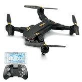 VISUO XS809S BATTLES SHARKS 720P WIFI FPV com Câmera de Angular Grande 20Mins Tempo de Voo Quadricóptero RC