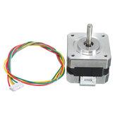 42 Schrittmotor 4 Führt 34mm 12V 0.4A 26Ncm 3D-Drucker Micro-Schrittmotor
