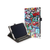 Folio Stand Tablet Case Cover for Samsung Galaxy Tab A 10.1 2019 T510 T515 - Doodle