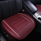 49*53cm 3D PU Leather Car Front Breathable Seat Cover Pad Auto Chair Protect Mat