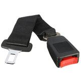 Pas bezpieczeństwa fotela samochodowego 36 cm z klamrą przedłużającą czarny