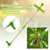 DZT Garden Lawn Portable Durable Killer Tool Stand Up Weed Puller Root Remover Strumenti