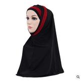 النساء الفتيات قناع الحجاب الدانتيل وشاح الإسلامية أميرة أغطية الرأس شالات headwraps