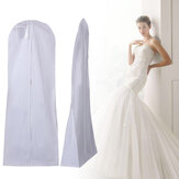 Wedding Dust Cover Fishtail Trailing Wedding Dedicated Non-woven Dust Cover for Clothes Dust Cover