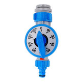 Outdoor Mechanical Watering Timer Automatic Plant Flower Irrigation Controller For Garden Self Watering System - Blue