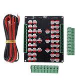 Three Series Lithium Battery 5A Balancer 4 LTO LiFePo4 Li-ion Battery Active Equalizer Balancer Board