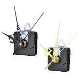12mm de Ouro / Preto de Quartzo Silencioso Relógio Mecanismo de Movimento Módulo Kit DIY Hora Minuto Segundo sem Bat