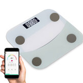 180 kg måleområde Bluetooth vægt skala med smart APP LED digital skærm Badeværelse kropsvægt skala