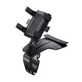 360°回転車の携帯電話ホルダー車のサンバイザーダッシュボード携帯電話ホルダー