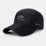Unisex UV Protection Quick Drying Breathable Foldable Outdoor Sports Visors Baseball Hat
