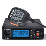BaoJie BJ-218 25W Mobile Radio VHF UHF 136-174 400-470MHz Ham Radio Car Walkie Talkie Long Range