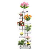 Multi-Layer Metal Planta Estante Vaso de flores Organizador Prateleiras Decorações Expositor Suporte De Prateleira Estante para Interior Externo Pátio Jardim Canto Varanda