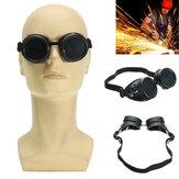 Kaynak Kesme Kaynakçıları Endüstriyel Güvenlik Gözlükler Steampunk Cup Gözlükler