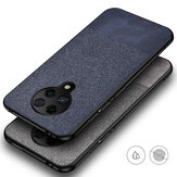 Bakeey dla Xiaomi Poco F2 Pro Case Anti-fingerprint Cotton Cloth PU Leather ProTective Case Back Cover nieoryginalny
