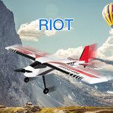 トップRCホビーRIOT 1400 mm翼スパンEPO練習スポーツ飛行機RC飛行機PNPトレーナー初心者