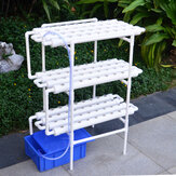 110-220V Plant Hydroponic Systems Grow Kit 108 Holes 3 Layers Nursery Pots Anti Pest Soilless Cultivation Indoor Garden
