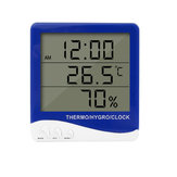 S-WS06 Hygrometer Thermometer Digital Indoor Humidity Monitormeter with Standing Wall Hanging Magnet