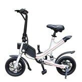 [EU Direct] ALFAS V1 Vélo électrique 7.8Ah 36V Batterie 350W Pneu 12 pouces 25 km / h Vitesse maximale Environ 35-50 km Kilométrage Vélo électrique pliant Prise UE 120 kg Charge maximale