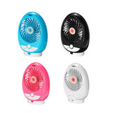 Original Wireless Music Fan bluetooth / TF Card Reproductor de audio Fiesta Estudio Trabajar cámping Mini ventilador de escritorio para enfriamiento