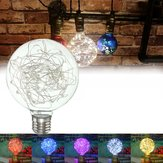 E27 Star Starry Sky Edison 50LED Vuurwerkfilament Retro Decoratieverlichting 5Color AC85-265