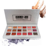 MAANGE 18 färger Eye Shadow Palette Mermaid Makeup