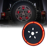 DC12VЗадняяшиназаднегоколеса красный LED Тормозные огни для Jeep JK 2007-2017