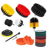 22 Pçs / set Broca Kit de Limpeza do Lavador de Roupa Escova para Banheiro Superfícies Azulejo e rejunte de Banheira