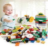 Твердые строительные блоки в сборе DIY Детский сад Просветление Строительные блоки Игрушки