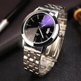 YAZOLE 296 Fashion Men Quartz Watch Casual Date Display Bussiness Armbåndsur