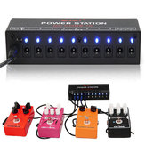 Mosky Guitar Effect Power Supply Station 10 Isolated Output 9V 12V 18V for Guitar Effects Pedal