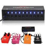 Mosky Gitarren-Effekt-Stromversorgungs-Station 10 lokalisierte Ausgang 9V 12V 18V für Gitarren-Effektpedal