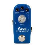 AZOR AP-308 Overdrive мини-гитарная педаль эффектов мини-педаль аксессуары для эффектов Overdrive запчасти для гитарной педали аксессуары
