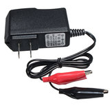 6V 1A 7Ah Sealed Lead Acid Rechargeable Car Battery Charger Adapter Output 7.5V