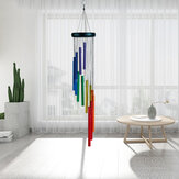 32 Inch Rainbow Wind Chimes Outdoor Amazing Grace Wind Chimes as Memorial Gift
