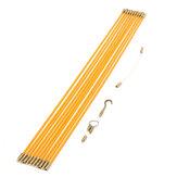 10st 58cm glasvezel lopende installatie elektrische trekstangen draad vis tape kabel toegangset