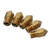 Creality 3D® 5PCS 0.3MM Copper M6 Thread Extruder Nozzle Untuk Printer 3D