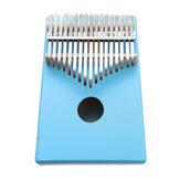 17 Keys C-Tune Thumb Piano Kalimba Portable Solid Wood Finger Piano