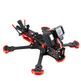 HGLRC Sector 5/6/7 V3 HD Freestyle 3K Carbon Fiber FPV Frame Kit Compatible with 5.8G VTX and DJI Air Unit