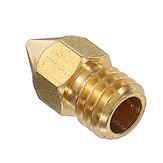 5PCS 1.75mm 0.4mm Cobre Zortrax M200 Bocal para impressora 3D