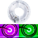 XANES® Optical/Vibration Sensor RGB LED Bicycle Wheel Lights Flash Light Neon Lamp Cover Wheel For Kids Balance Bikes Mountain Road Bike