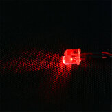 Feiyue Red RC Car luce a led Per 1/12 FY03 FY04 FY05 FY06 1/10 HG RC Model Parts ⌀5mm