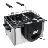 Коммерческая электрическая фритюрница SOKANY 220-240V 2100W Deep French Fries Chicken Grill для кухни