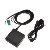 3.5mm AUX TF USB CD Ses Kablosu Adaptörü 6Pin bluetooth ile Mikrofon Renault 2005-2011 Için