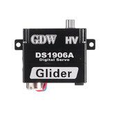 GDW DS1906-A Coreless Metal Gear Digital Servo Para Planador De Avião De RC