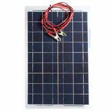 30W 12V Semi Flexibele Solar Panel Device Batterijlader