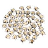 500 قطع dc12v 4 دبابيس تاكت اللمس إدفع زر التبديل حظية مؤقتة التبديل 5x5x1.5 ملليمتر