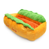 Dog Washable Cotton Kennel Dog Nest Puppy Pet Bed House Ấm Đệm Pad