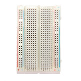 3Pcs 8.5x5.5cm 400 Tie Points 400 Holes Solderless Breadboard Bread Board