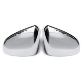 Car Chrome Side Door Wing Mirror Cover Caps Pair for Nissan Qashqai +2 I 2007-2013